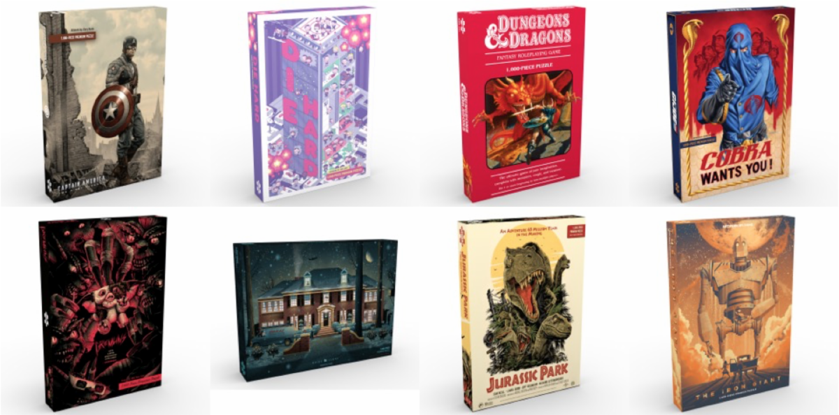 [News] Mondo Releases 1000-Piece Puzzle Collection