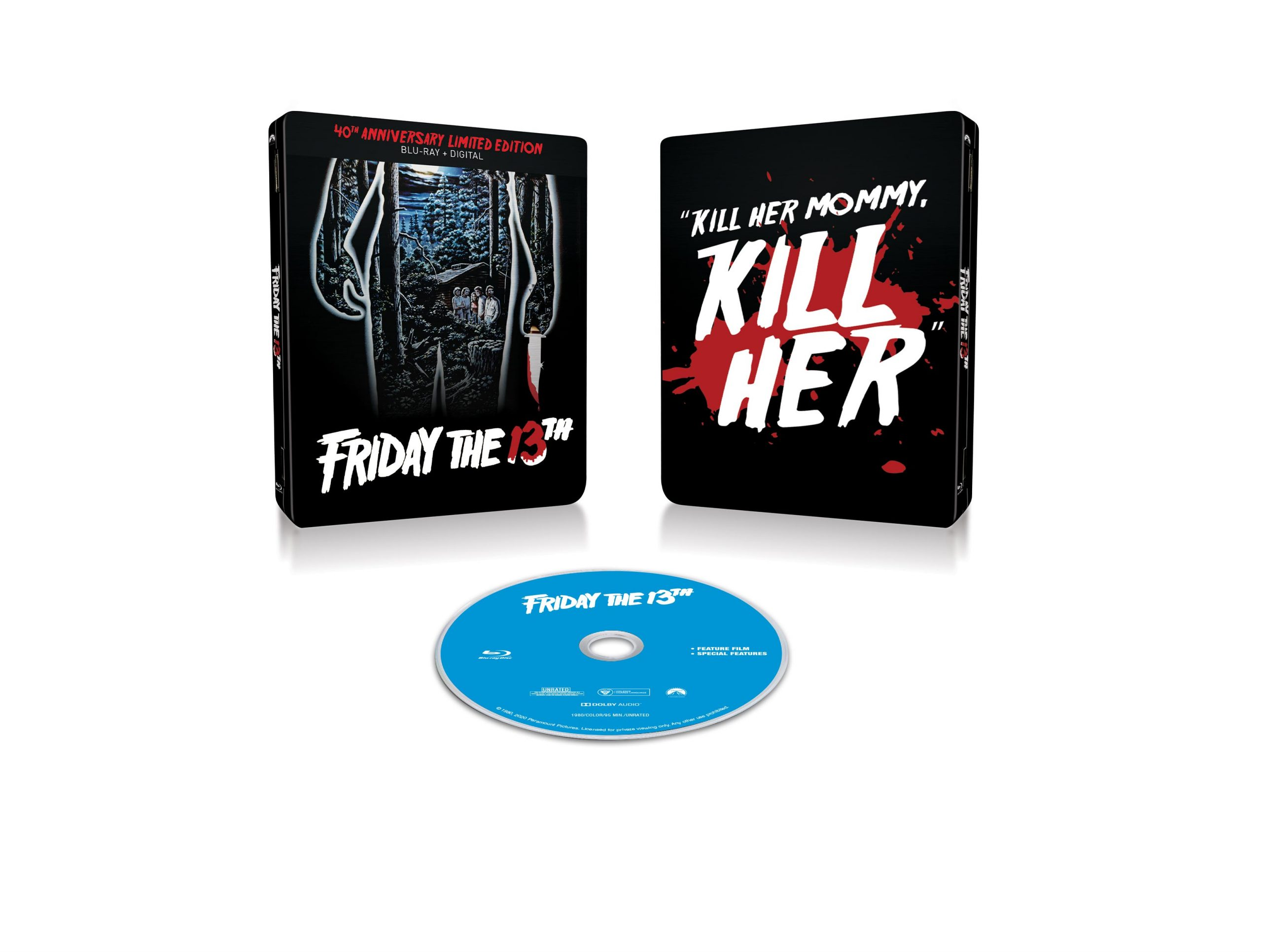 [News] FRIDAY THE 13TH Steelbook Coming This June