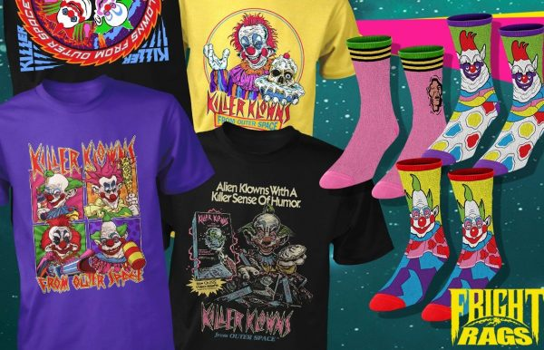[News] Fright-Rags Invaded By NIGHT OF THE LIVING DEAD & KILLER KLOWNS FROM OUTER SPACE