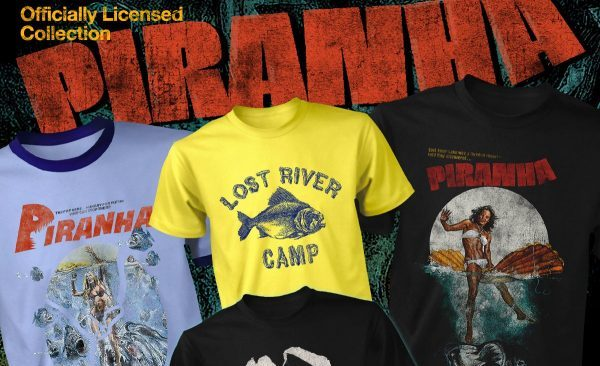 [News] Fright Rags Kicks Off Summer with New PIRANHA Merch & More!
