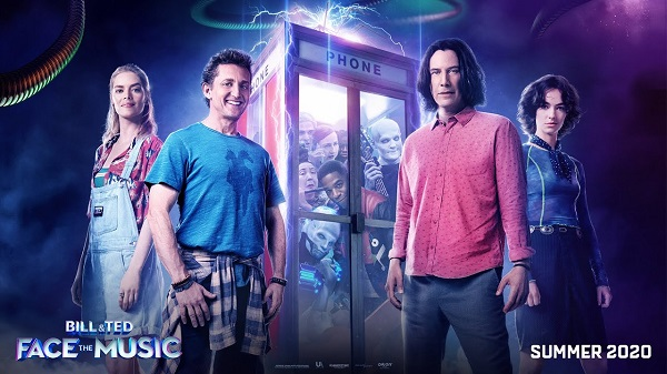 [News] BILL & TED FACE THE MUSIC Featurette Focuses on Most Triumphant Duo