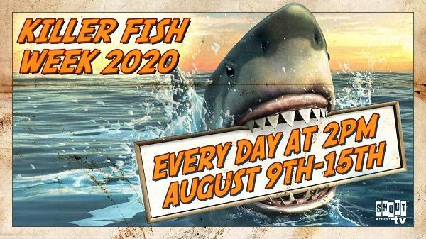 [News] Shout! Factory TV to Host KILLER FISH WEEK 2020 Weeklong Livestream Event