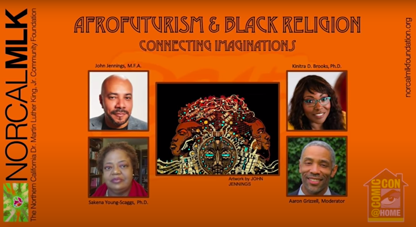 [Comic-Con@Home Panel Recap] Afrofuturism and Black Religion