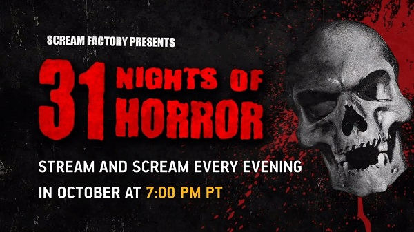 [News] Shout! Factory TV & Scream Factory Present 31 Nights of Horror Starting October 1