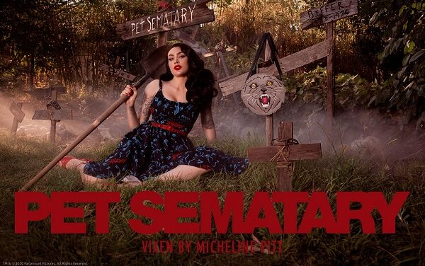 [News] Vixen by Micheline Pitt Announces Licensing Partnership with Paramount Pictures for Stephen King's Pet Sematary