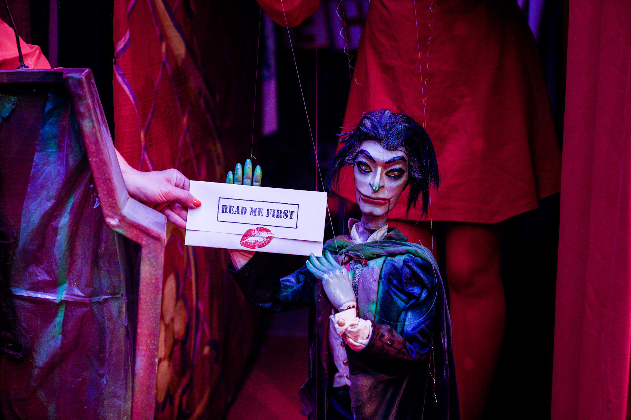 [News] Order an Evening of Disco, Puppets & Vampires to Your Front Door!