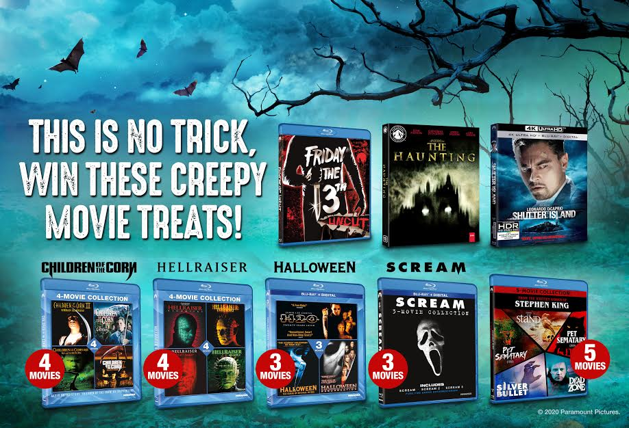 [Giveaway] Enter for a Chance to Win a Horror Movie Prize Pack