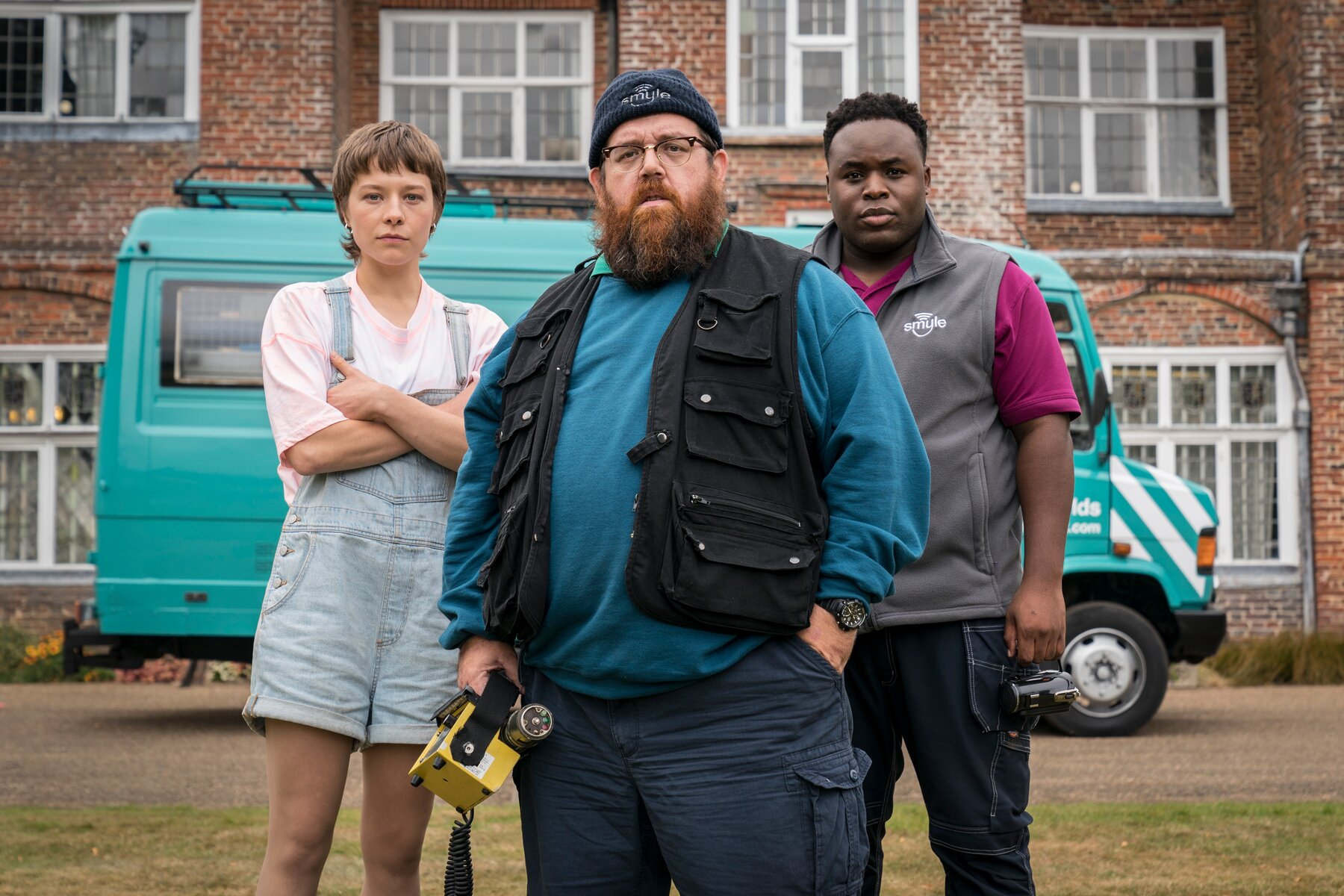 [Interview] Nick Frost & Samson Kayo for TRUTH SEEKERS