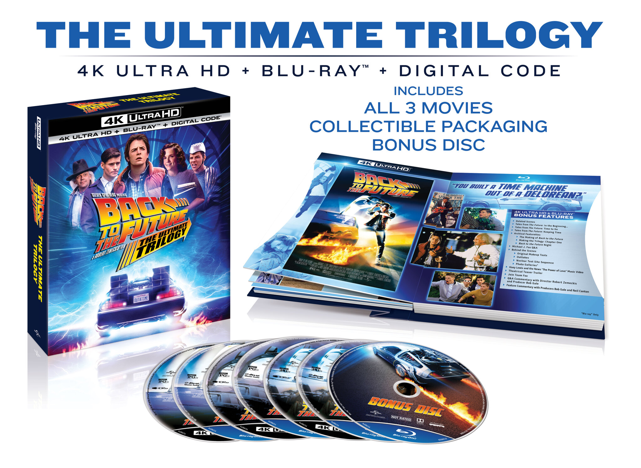 [Giveaway] Enter for a Chance to Win A Blu-ray of BACK TO THE FUTURE: THE ULTIMATE TRILOGY