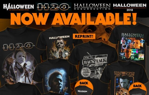 [News] Fright-Rags' New HALLOWEEN Apparel Spans 40 Years of Michael Myers