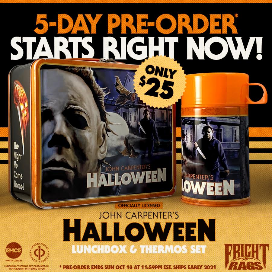 [News] HALLOWEEN Lunchbox & Thermos Set On Sale at Fright-Rags