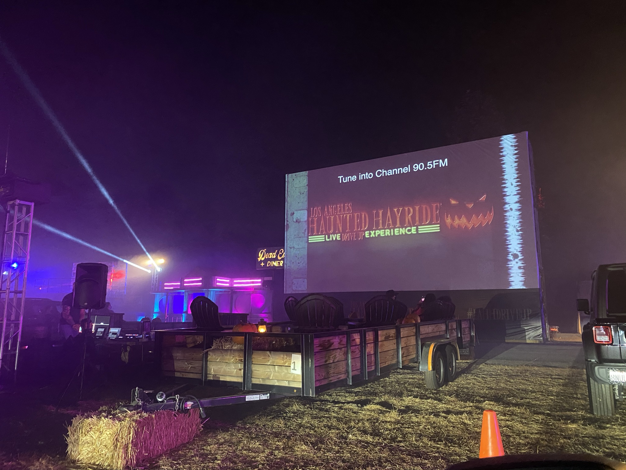 [Haunt Review] LA Haunted Hayride: Live Drive Up Experience