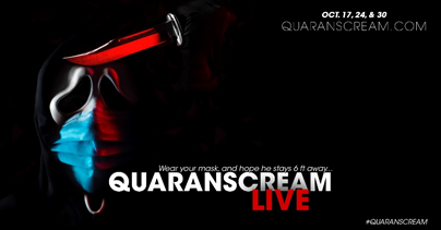 [News] Remote Immersive Experience QUARANSCREAM LIVE Arriving Just in Time for Halloween