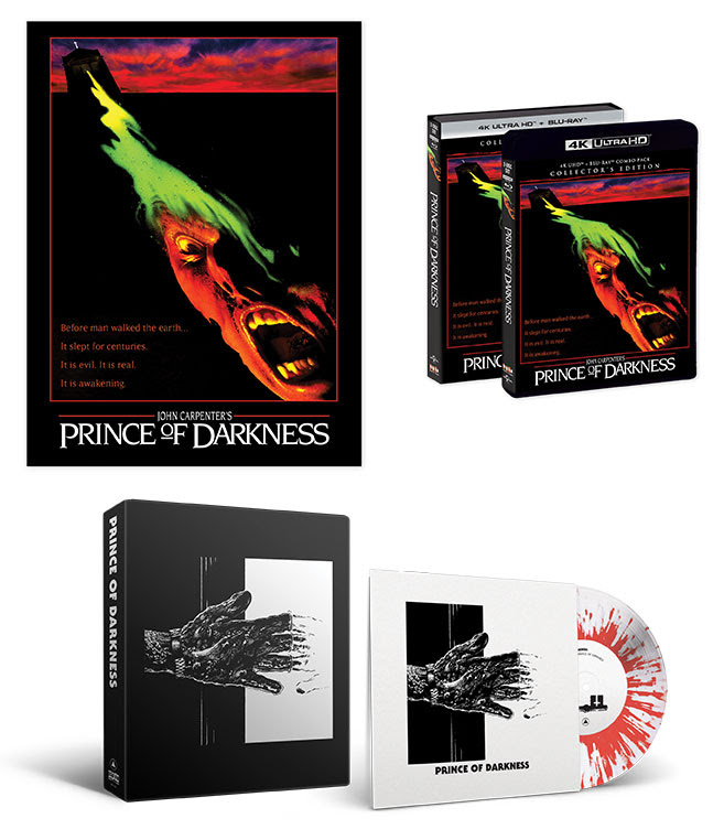 [News] 4K UHD Collector's Edition of PRINCE OF DARKNESS Coming in January