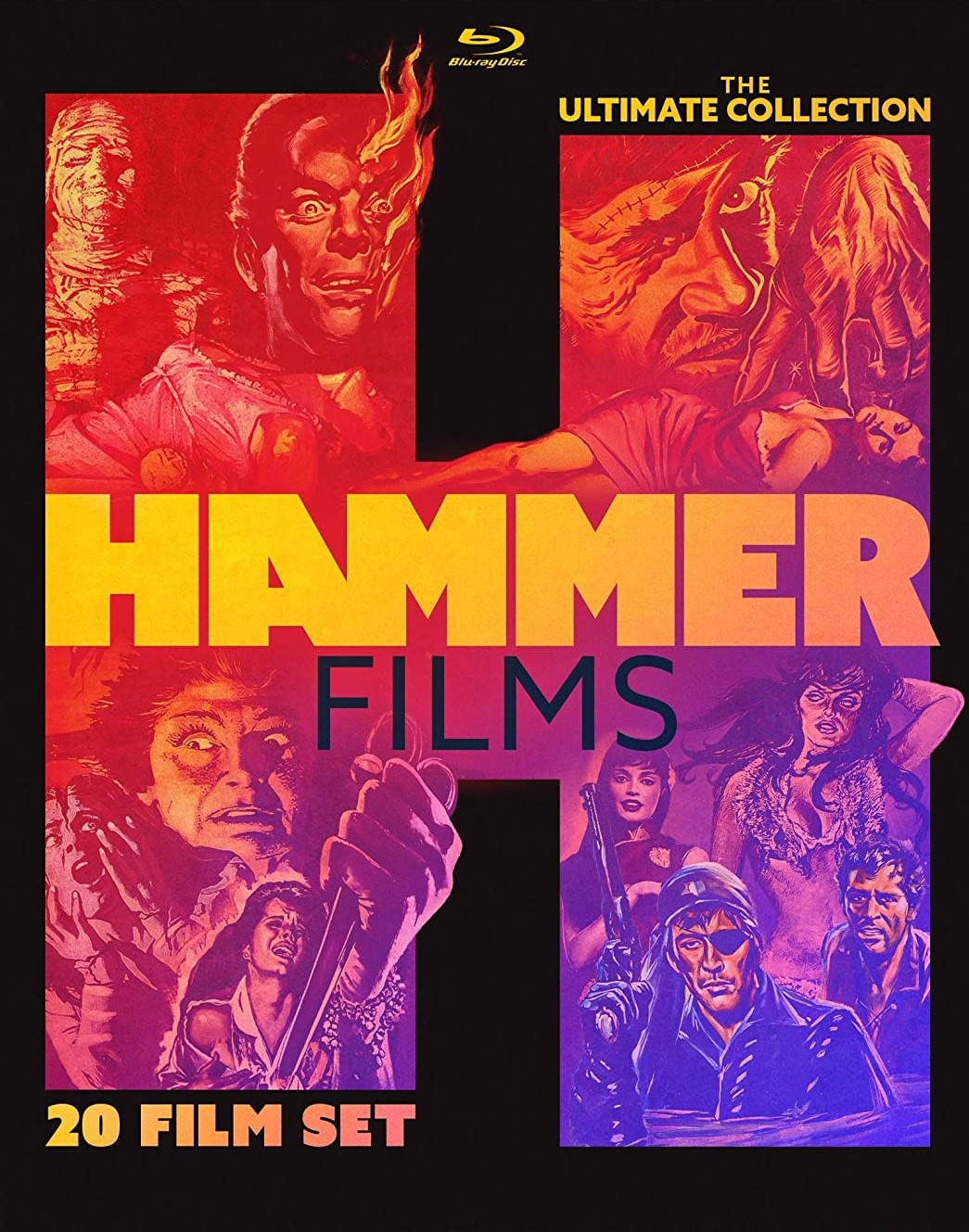 [Blu-ray/DVD Review] HAMMER FILMS: THE ULTIMATE COLLECTION