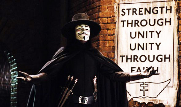 [Blu-ray/DVD Review] V FOR VENDETTA