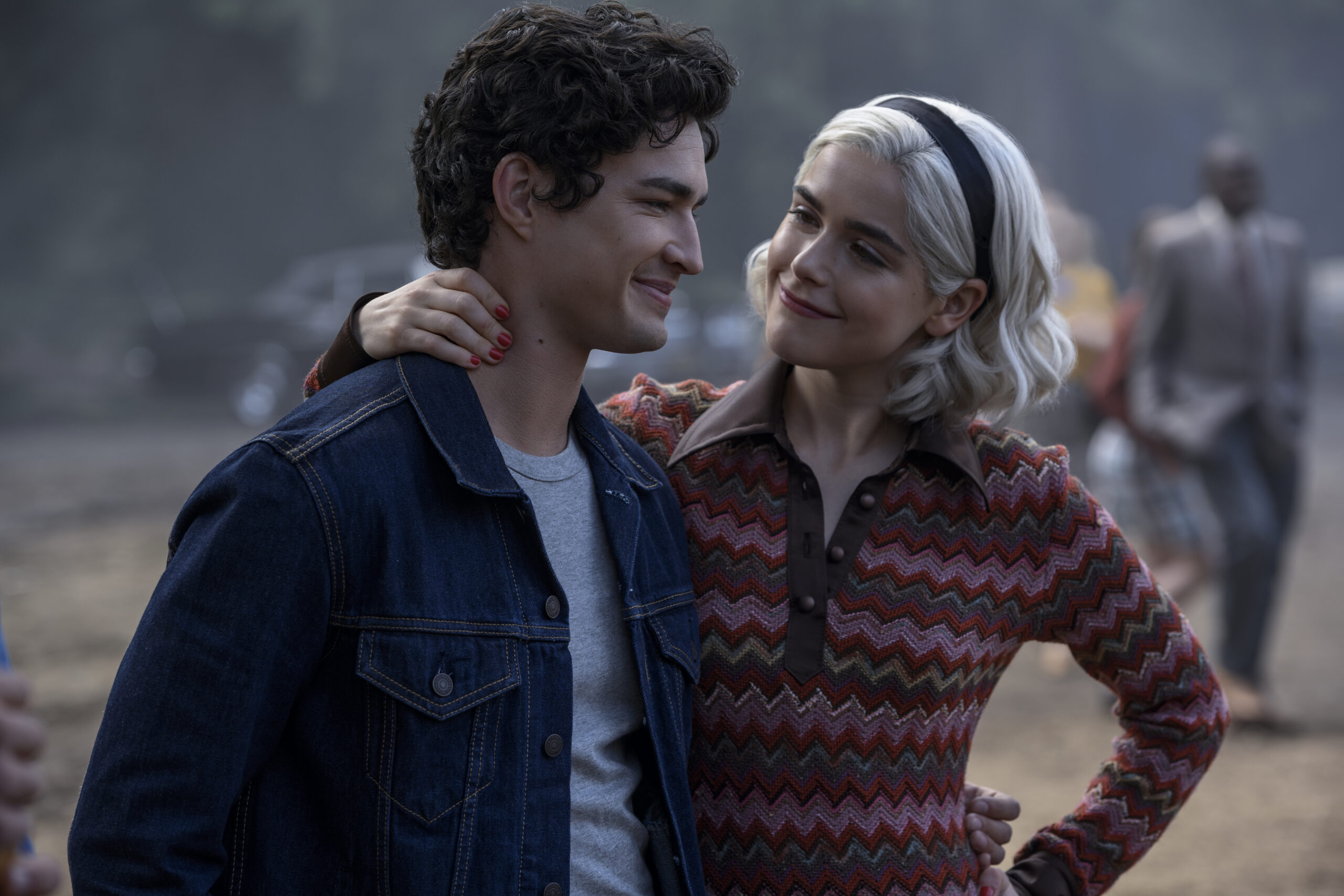 [Interview] Kiernan Shipka & Gavin Leatherwood for CHILLING ADVENTURES OF SABRINA