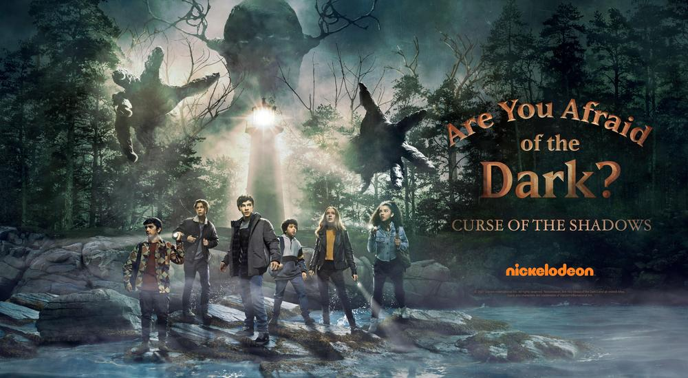 [News] Nickelodeon Reveals Trailer for ARE YOU AFRAID OF THE DARK?: CURSE OF THE SHADOWS