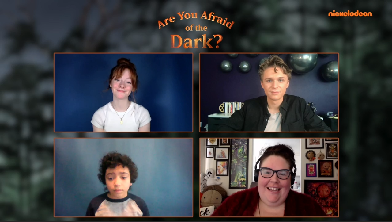 [Interview] Cast of ARE YOU AFRAID OF THE DARK?: CURSE OF THE SHADOWS Part 2