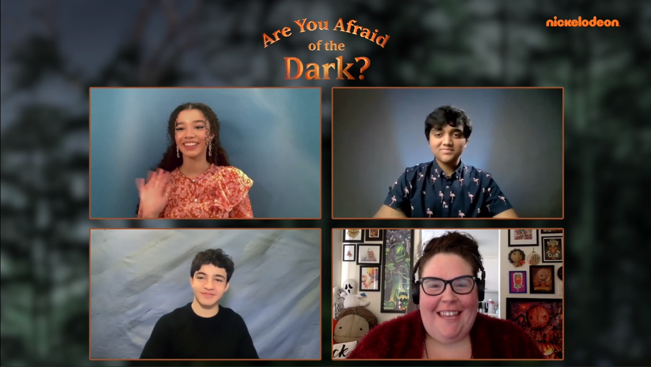 [Interview] Cast of ARE YOU AFRAID OF THE DARK?: CURSE OF THE SHADOWS Part 1