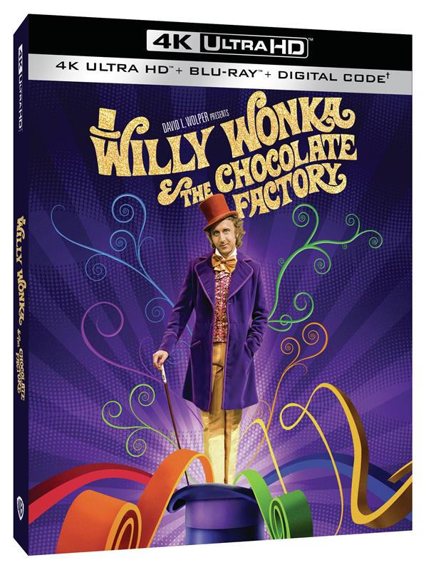 [Blu-ray/DVD Review] WILLY WONKA & THE CHOCOLATE FACTORY
