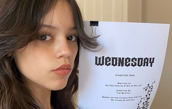 [News] Jenna Ortega is Wednesday Addams for All-New Series