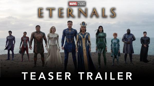 [News] Marvel Studios' ETERNALS Teaser Trailer is Here!