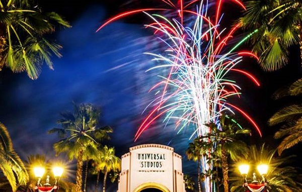 [News] Universal Studios Hollywood Celebrates 4th of July with Dazzling Fireworks Spectacular