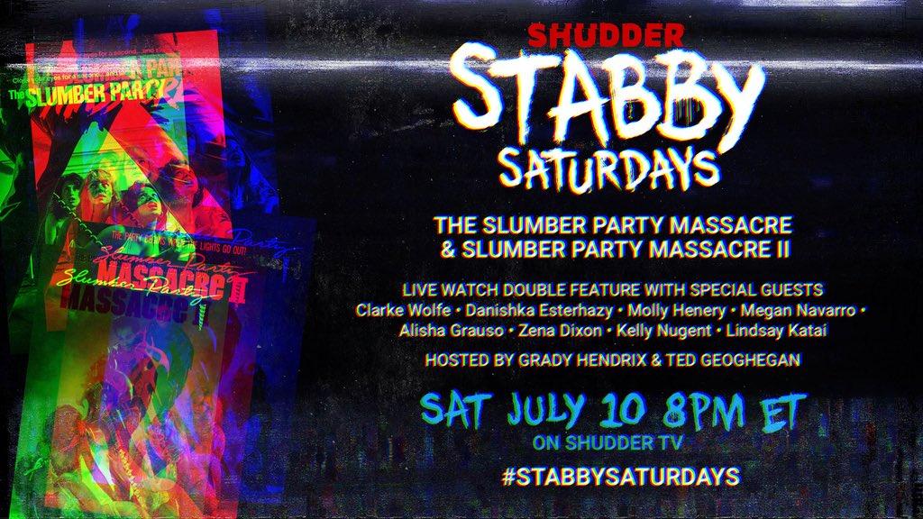 [News] Stabby Saturdays Celebrate Slasher Cinema on Shudder TV
