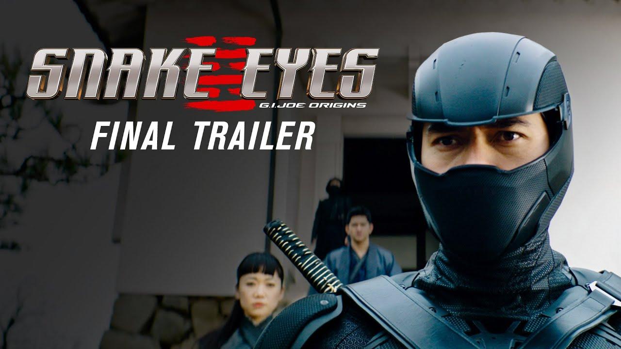 [News] SNAKE EYES: G.I. JOE ORIGINS Final Trailer Revealed