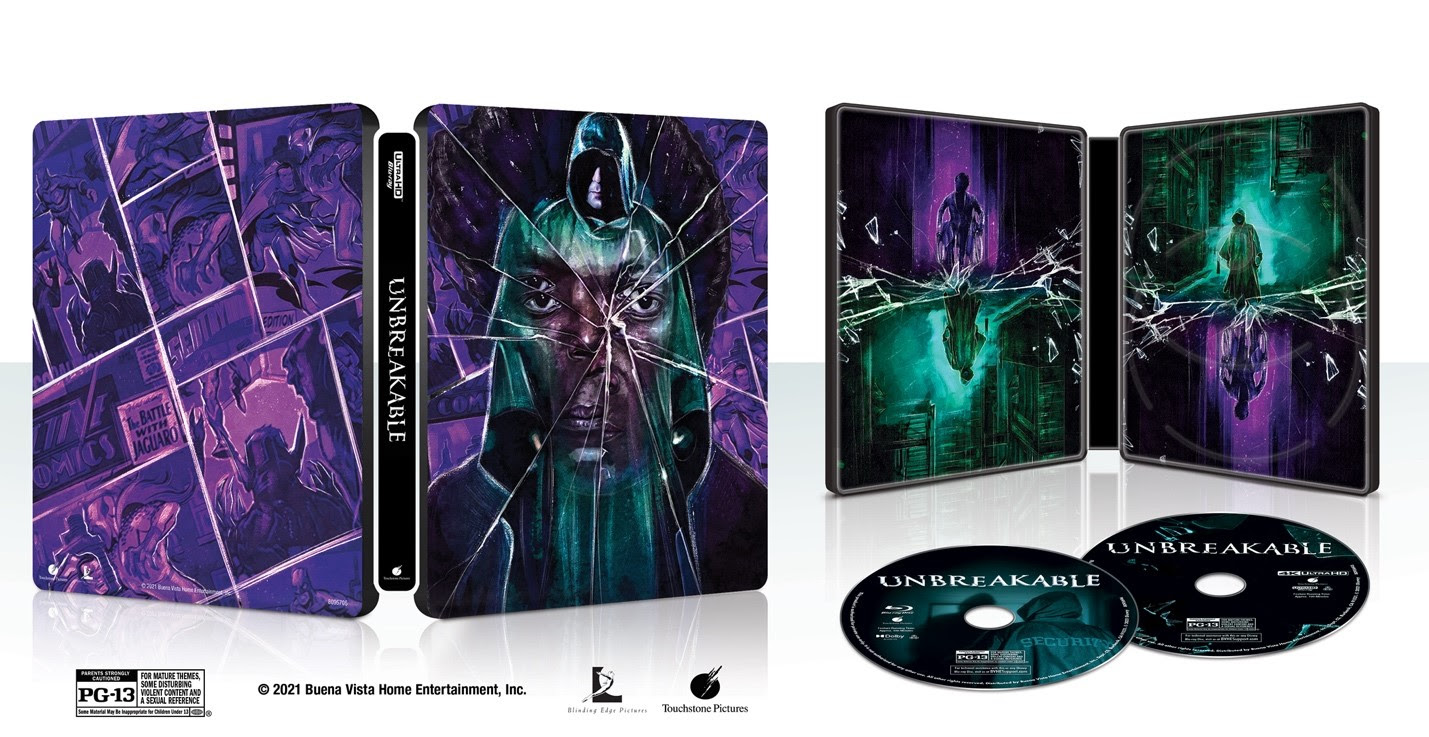 [News] UNBREAKABLE Available for the First Time on 4K Ultra HD Blu-Ray Disc This September!