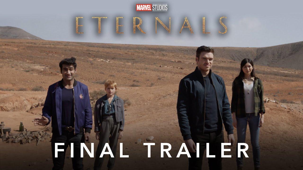 [News] ETERNALS – The Final Trailer Has Landed!