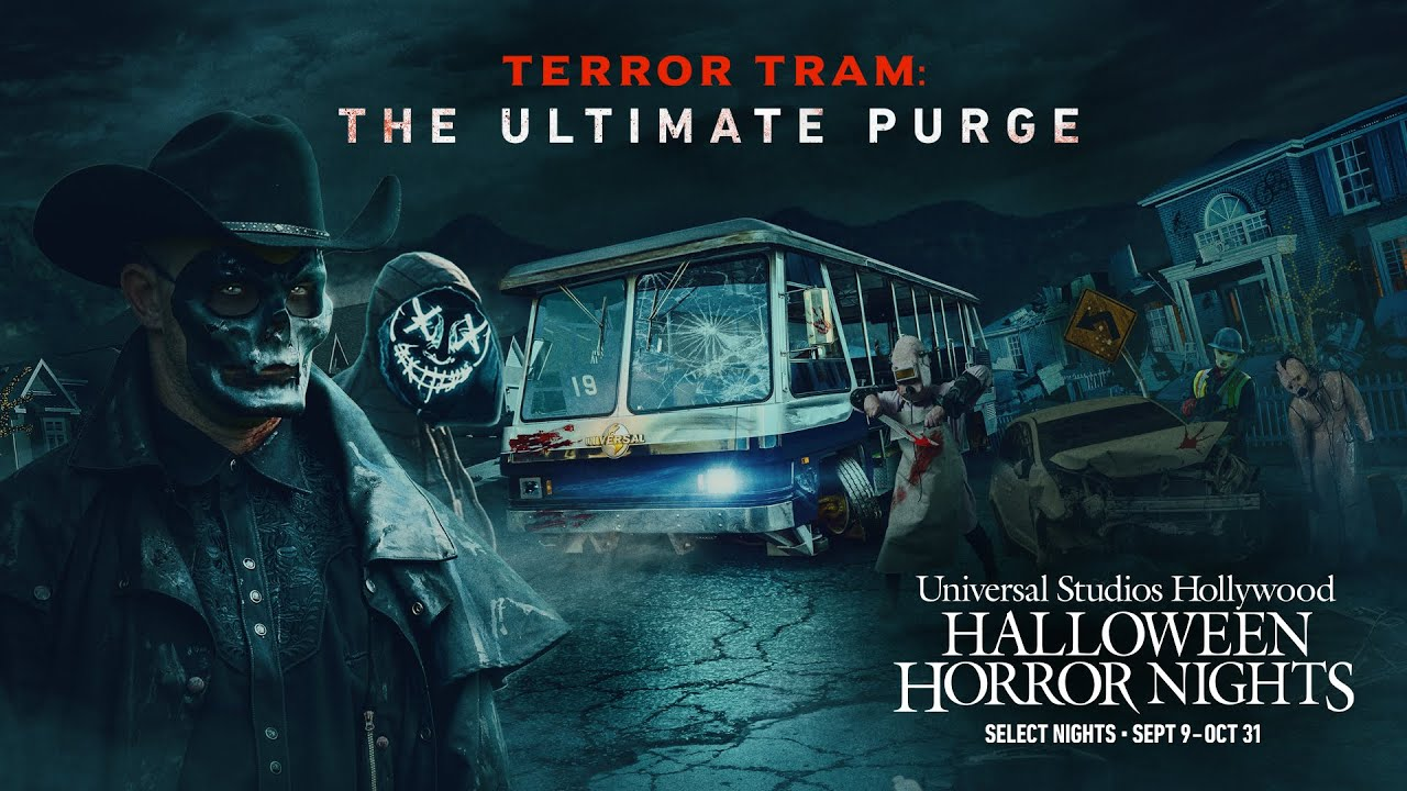 [News] Terror Tram and More Unveiled For Universal Studios Hollywood's Halloween Horror Nights